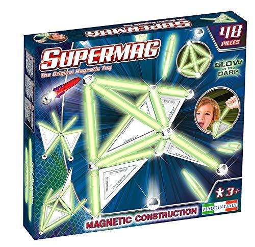 Beluga Spielwaren GmbH 0158 Beluga Spielwaren Supermag Tags Glow 48, Leuchtet im Dunkeln