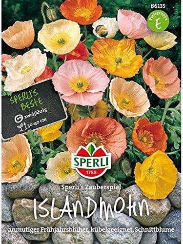 Sperli Blumensamen Islandmohn Zauberspiel, grün