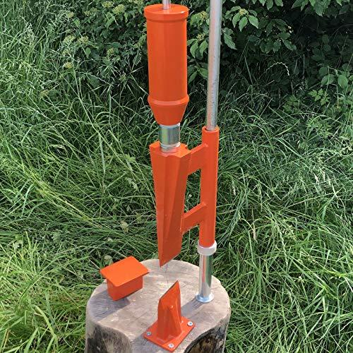 Forest Master© Smart Splitter Holzspalter manuell Typ FMSS Holz Handspalter Log Spalter...