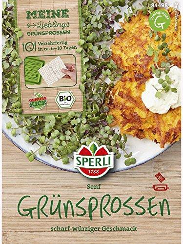 Sperli MicroGreen Garden Bio-Senf Nachfüllpads 3 Stück