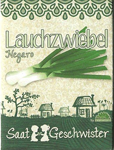 Die Stadtgärtner Lauchzwiebel-Saatgut | sehr schmackhaft und vielseitig | Sorte'Negaro' | Samen...