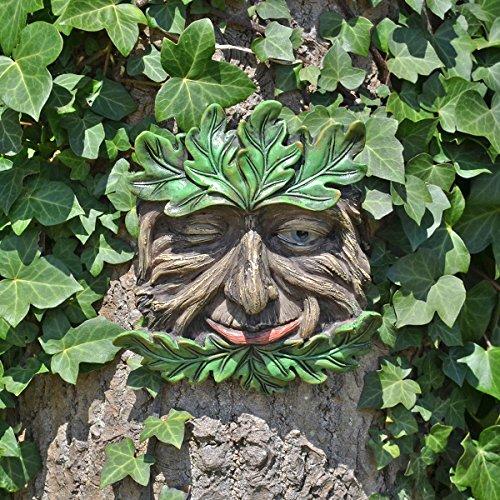 Fiesta Studios Baum-Ent Face Wandschild Tangleroot Large Garden Greenman Dekorative...