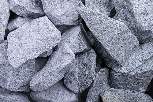 Kies Splitt Zierkies Edelsplitt Steinschlag Granit Grau SS, 32-56 mm 500 kg