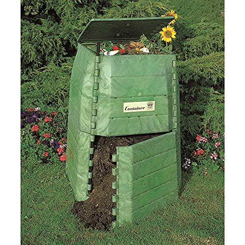 Hochwertiger Thermokomposter aus dickwandigem Kunststoff für Küchen- und Gartenabfälle –...