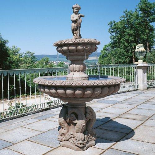 fantasieco! Stoneland Brunnen Milano - Terracotta