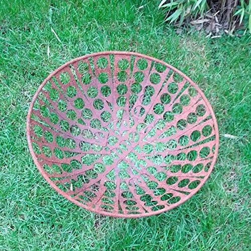 Zen Man Garteninspiration Feuerschale 50 cm Durchmesser Edelrost