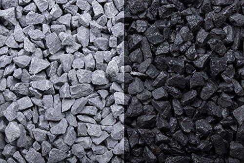 Kies Splitt Zierkies Edelsplitt Basalt 8-11mm Big Bag 1000 kg