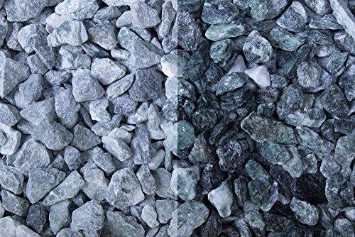 Kies Splitt Zierkies Edelsplitt Kristall Grün 12-16mm Sack 20 kg