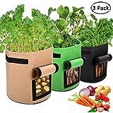 APERIL Pflanzen Tasche, Kartoffel Pflanzsack, Dauerhaft AtmungsaktivBeutel mit...