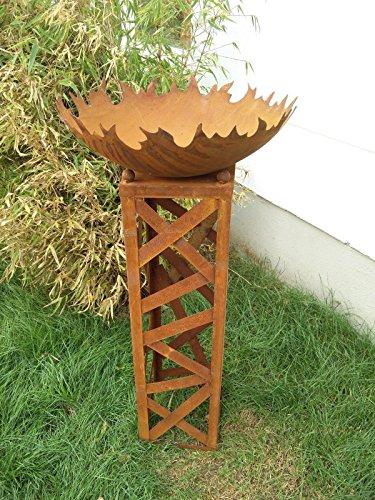 Zen Man Garteninspiration Feuerschale mit Konus