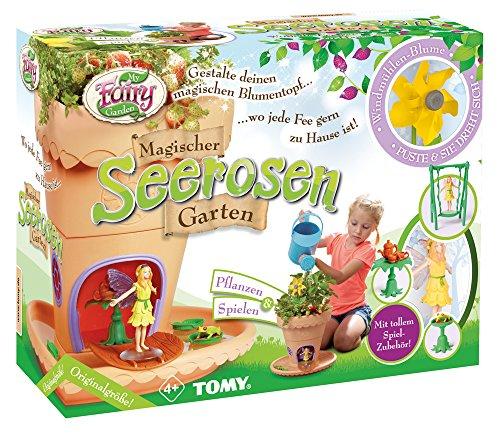 My Fairy Garden Spielzeugset, Garten zum selber Pflanzen & Spielen, Magischer Seerosen-Garten für...