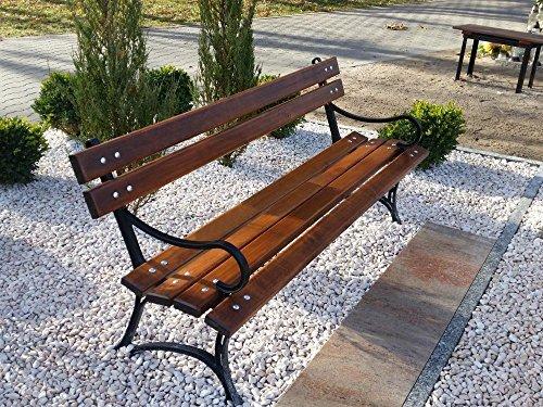 Krakwood Gartenbank, Terrassenmöbel, für Außenbereiche, Veranda, Park, Sitz, Deck aus Holz,...