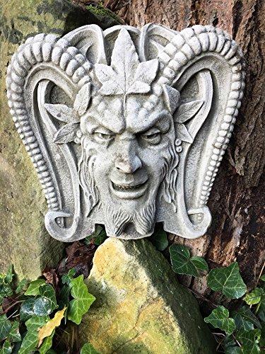 Antikas - Pan - tolle Gartenbrunnen Dekoration Griechische Dekoration Brunnen Steinfiguren