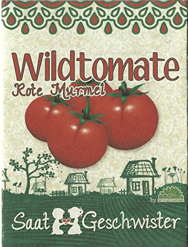 Die Stadtgärtner Tomate'Rote Murmel'-Saatgut   ideal zur Topfkultur, geschmacksintensiv