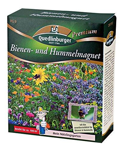 Quedlinburger Bienen- und Hummelmagnet 400g für 400m²