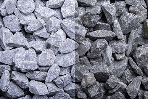 Kies Splitt Zierkies Edelsplitt Ardennen Splitt grau 7-14mm Sack 20 kg