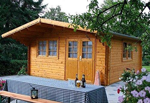 Wolff Finnhaus Gartenhaus Nordkap 70-F XL