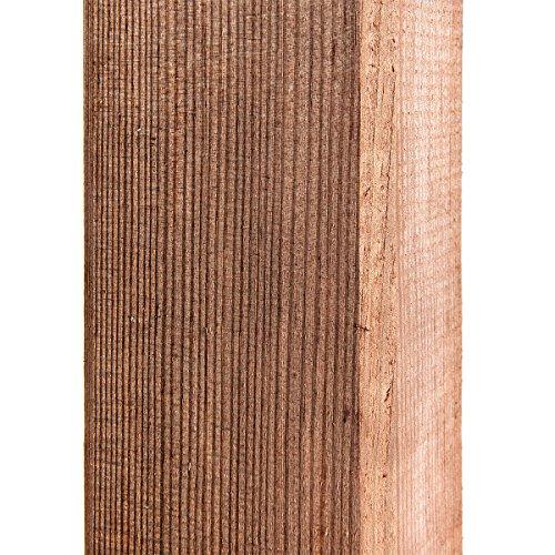 HaGa® Pfosten - 7cm x 7cm x 100cm - 1 Stück - Zaunpfahl für Weidezaun, Gartentor & vieles mehr -...