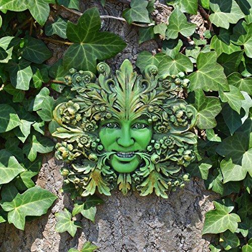 Fiesta Studios Green Mistress Green Woman Greenman Dekoschild für den Garten, 12 cm