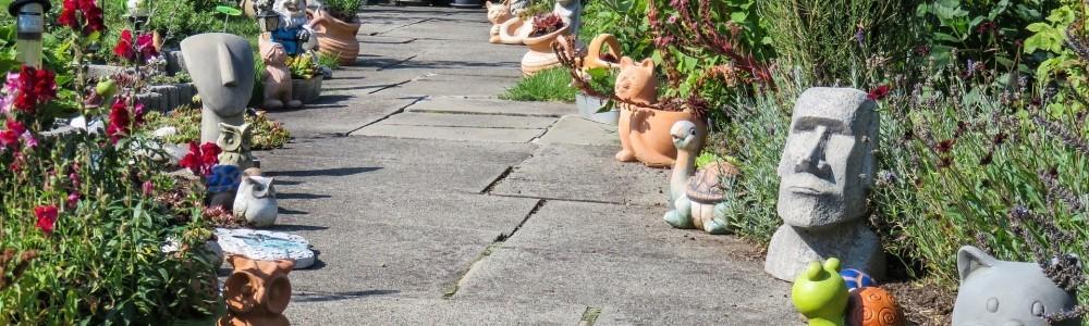 Geschenkideen mit Gartenfiguren von Steinfiguren Horn